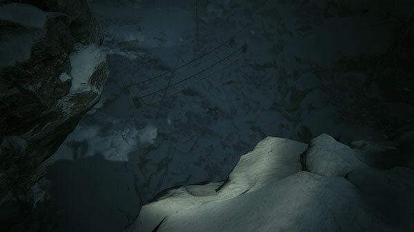 Kholat game screenshot - Don't Look Down
