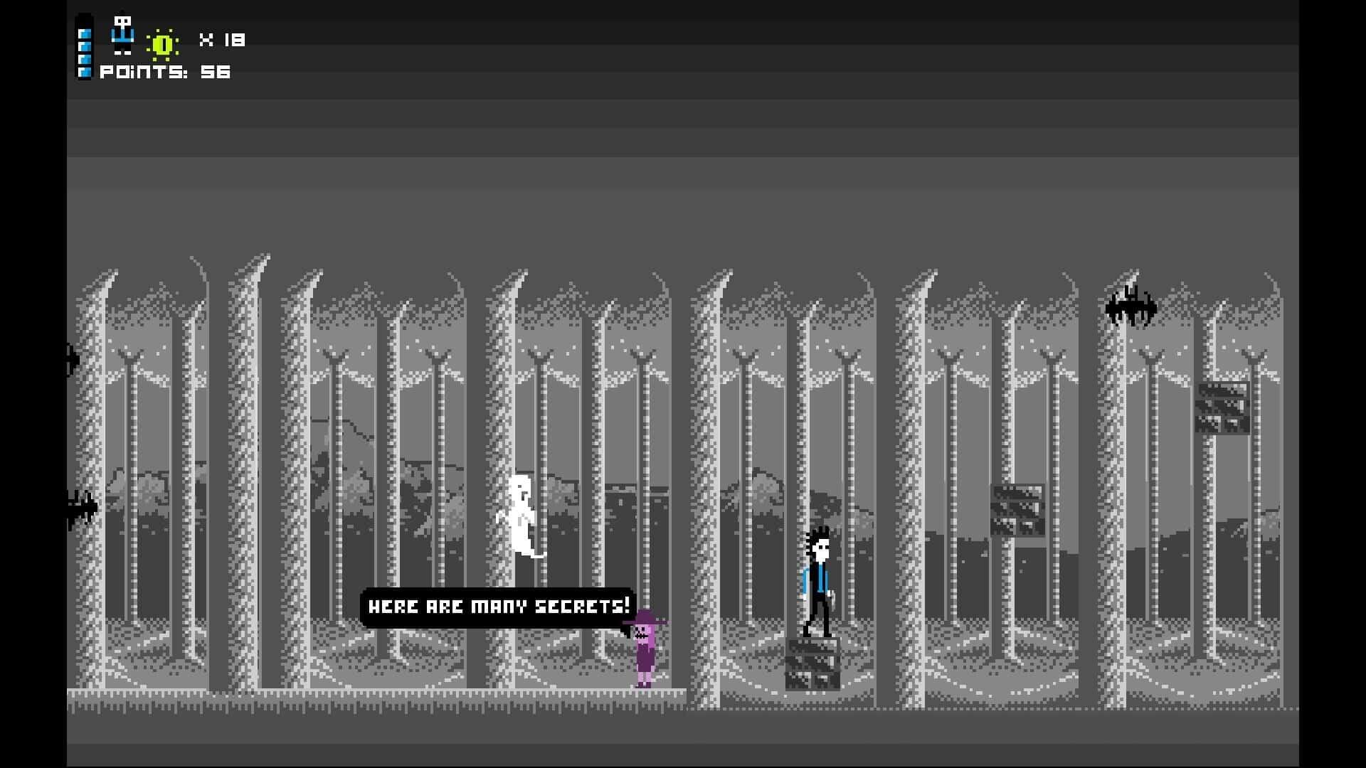 Abo Mando game screenshot, forest