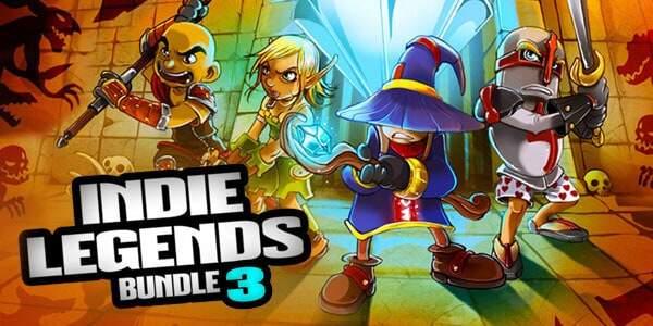 Bundle Stars, Indie Legends Bundle 3 banner