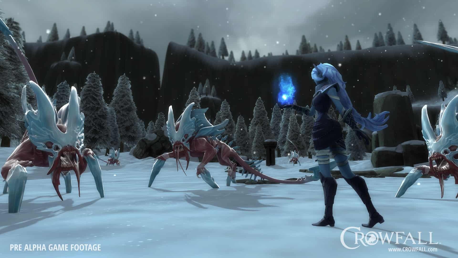 Crowfall MMORPG screenshot