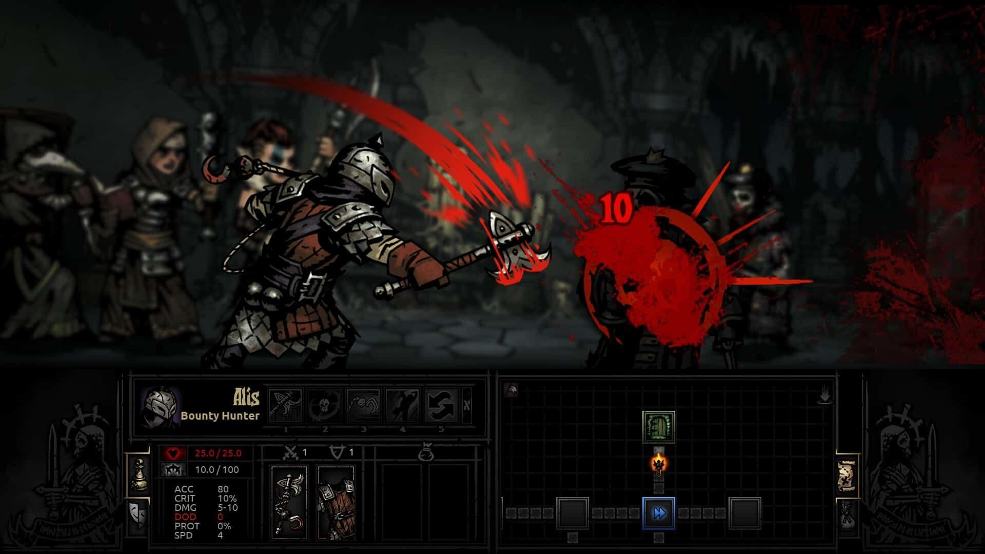 Darkest Dungeon screenshot