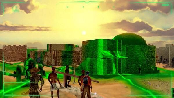 Outcast 1.1 game screenshot, open world 3D