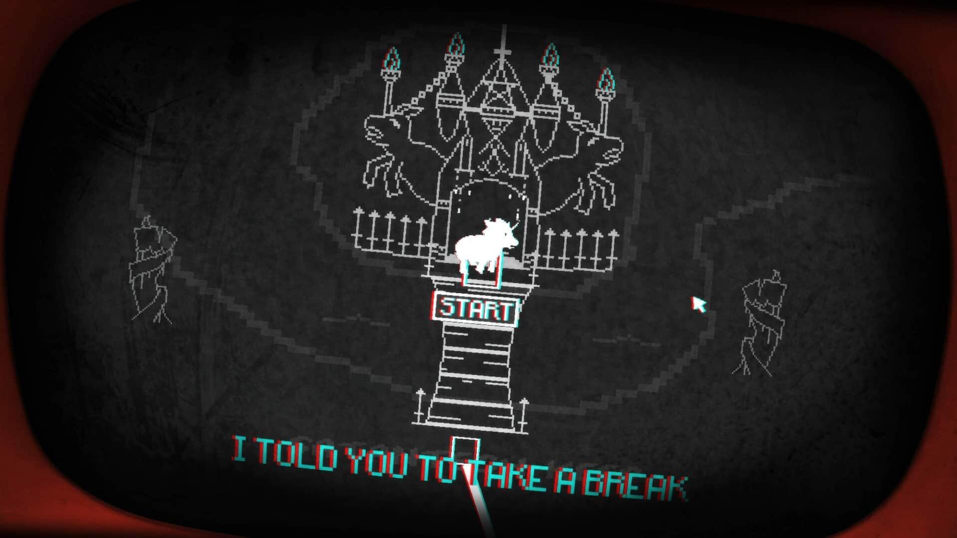 Pony Island Screenshot Break Time