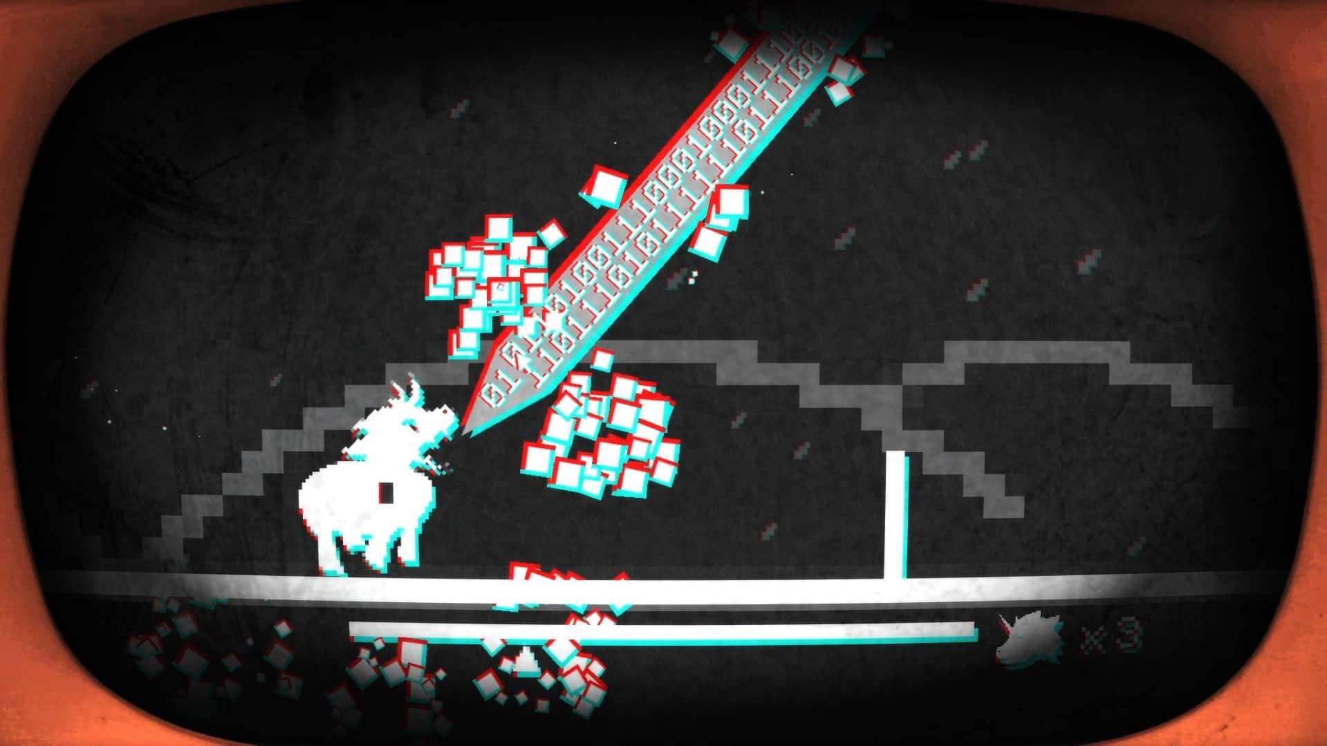 Pony Island screenshot Firin' Mah Lazers
