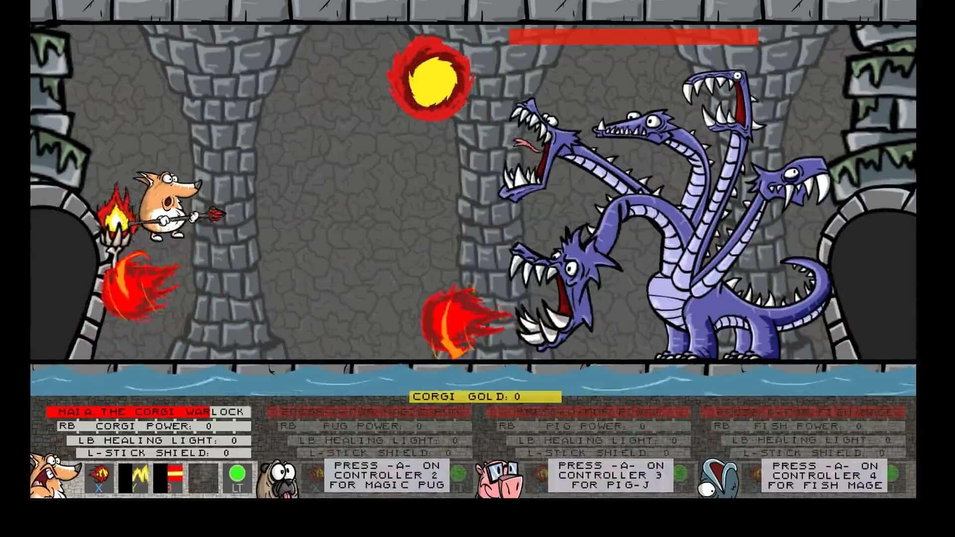 corgi warlock screenshot dragon