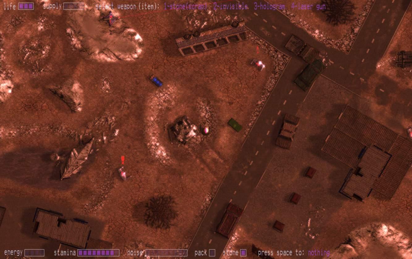 AI: Rampage game screenshot 1