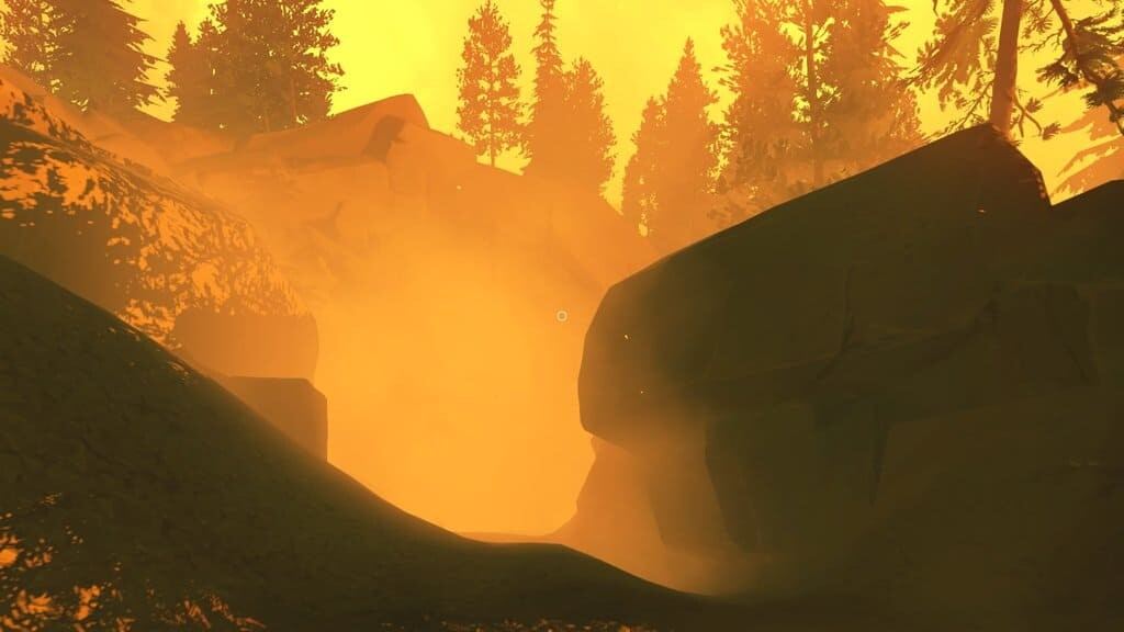 firewatch screenshot smoky