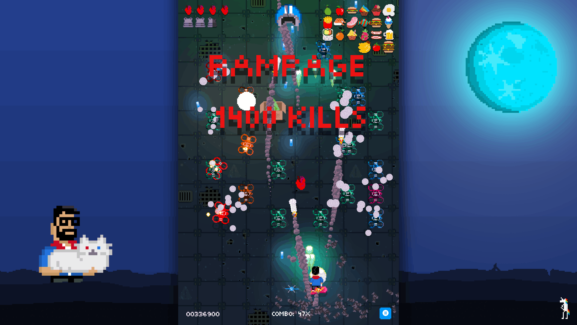 Shooting Stars! Screenshot - 1400 Kill Rampage
