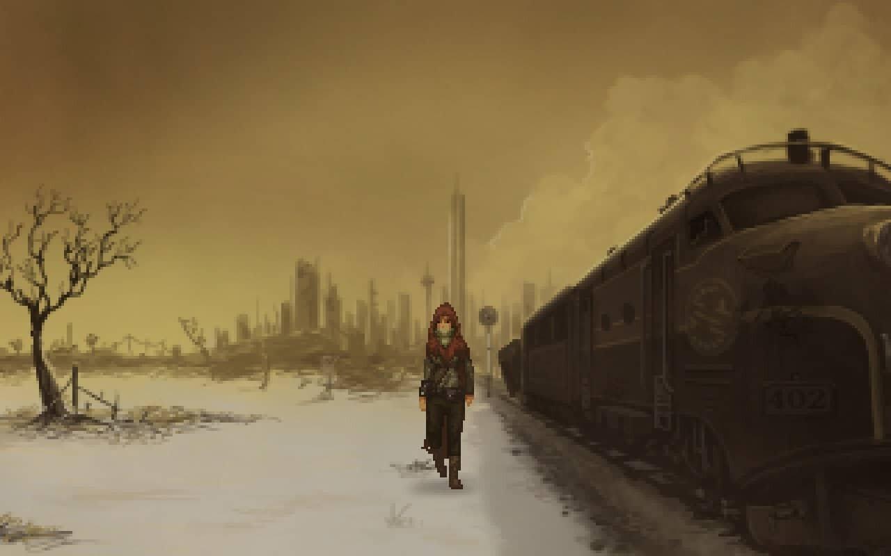 Shardlight game screenshot, train
