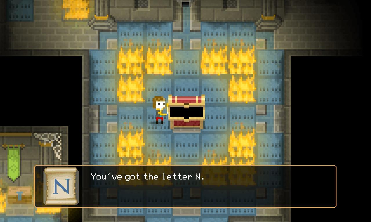 The Count Lucanor screenshot - Flames