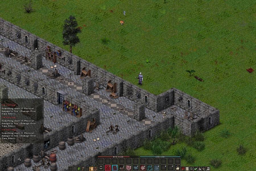 Balrum game screenshot, castle