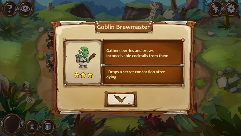 Braveland Wizard game screenshot, enemy
