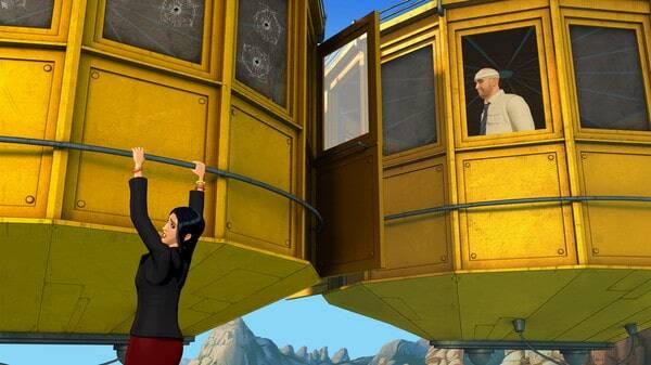 Broken Sword 5: Episode 2 game screenshot, courtesy Steam