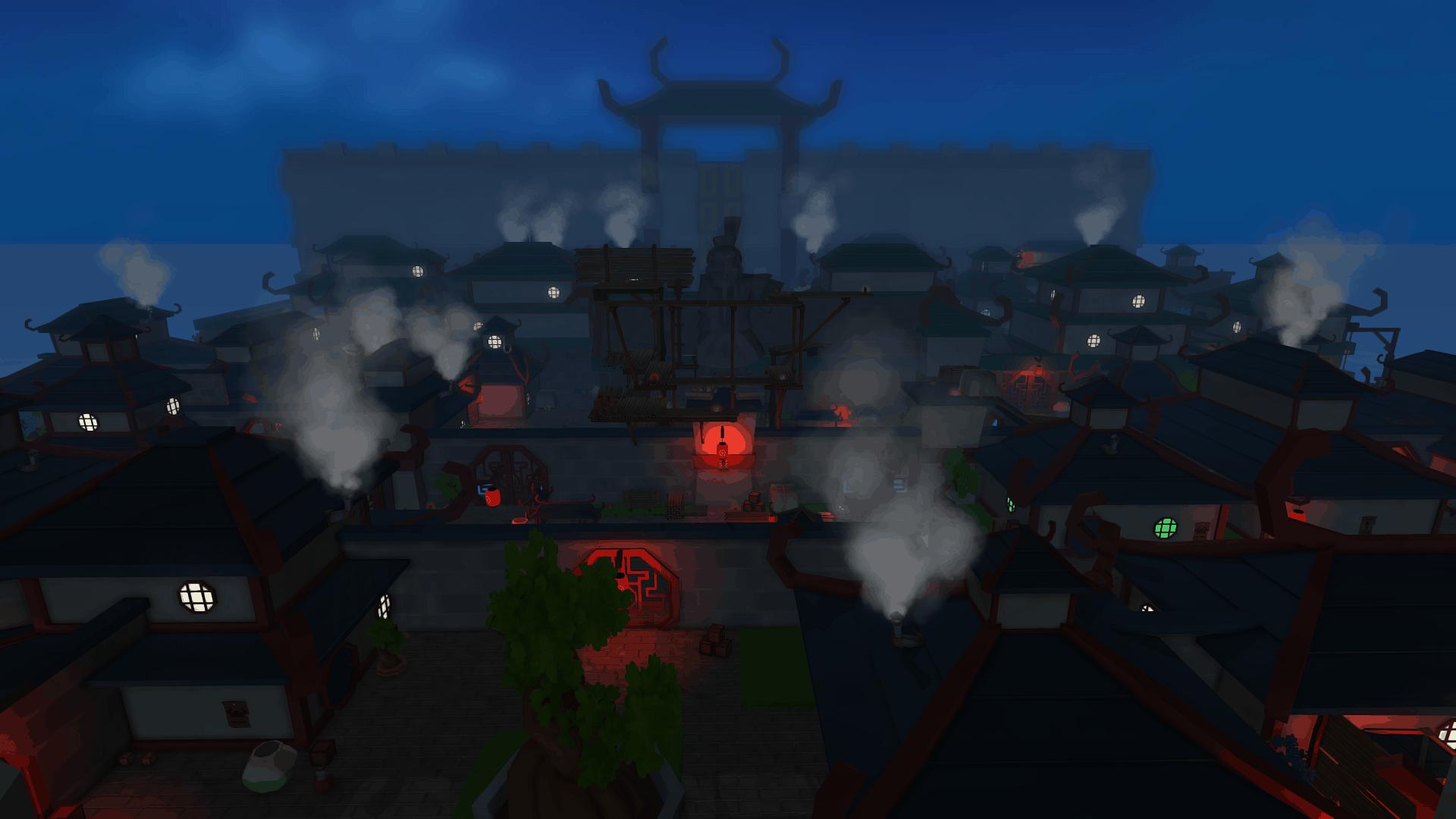 Cornerstone game screenshot, GouHai, an Asian-inspired island
