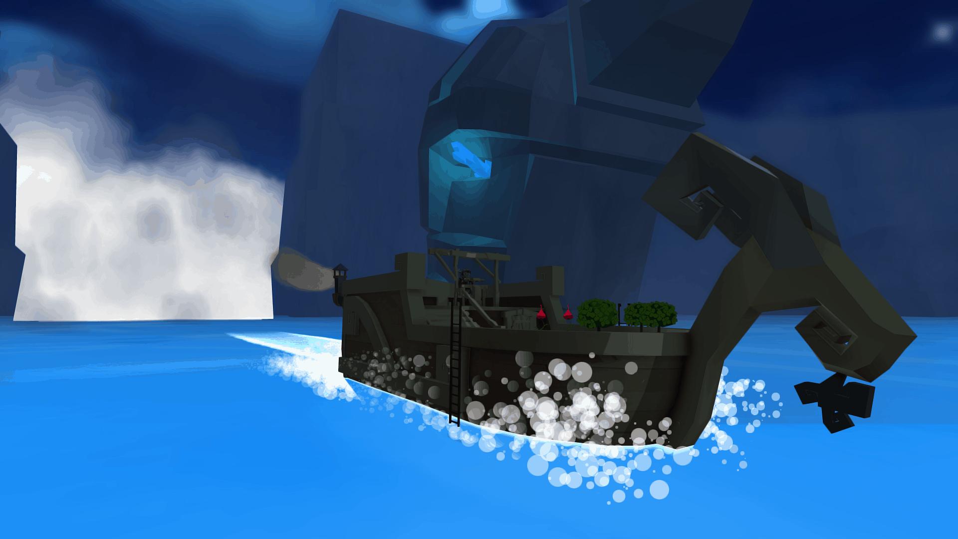 Cornerstone game screenshot, mad goat ( a fancy ship upgrade)