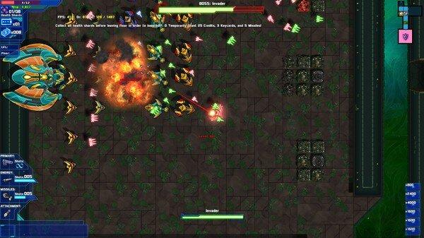 Starward Rogue game screenshot, combat (courtesy Steam)
