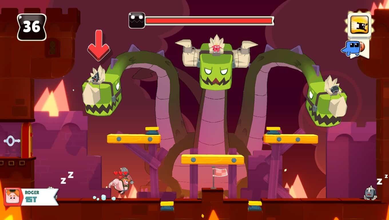 Abraca game screenshot, boss