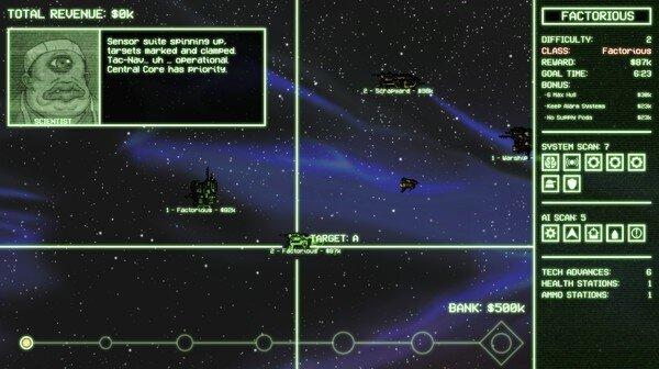 Cryptark game screenshot 2, courtesy Steam