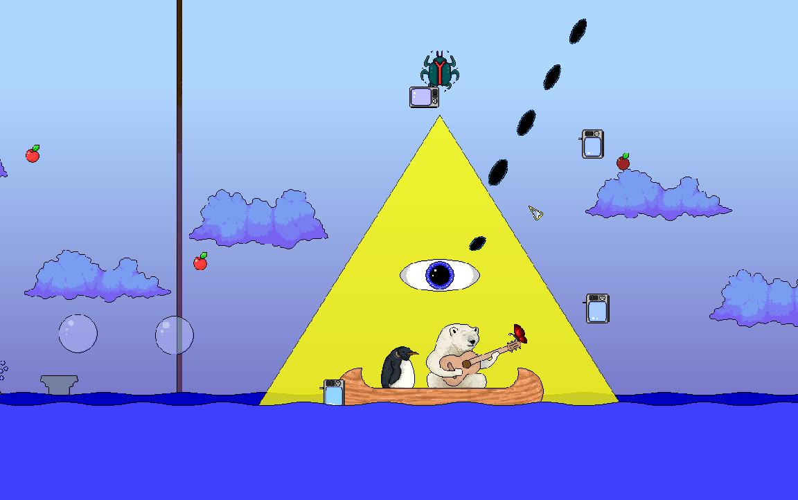 The Magical Silence game screenshot, boat