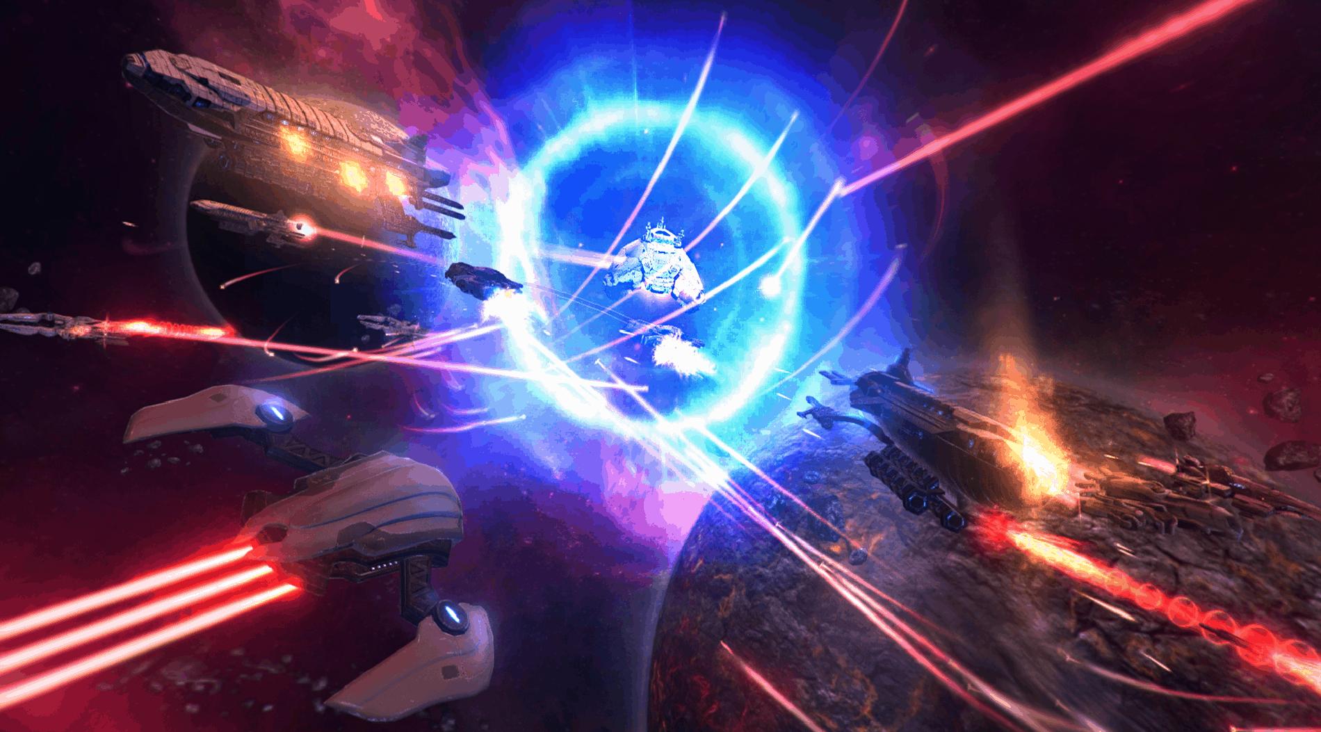 Galaxy Reavers game screenshot, pretty