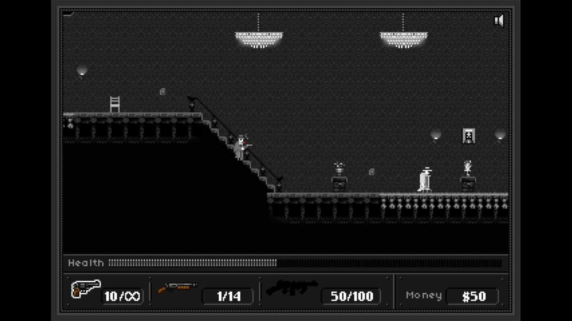 Rot Gut game screenshot staircase