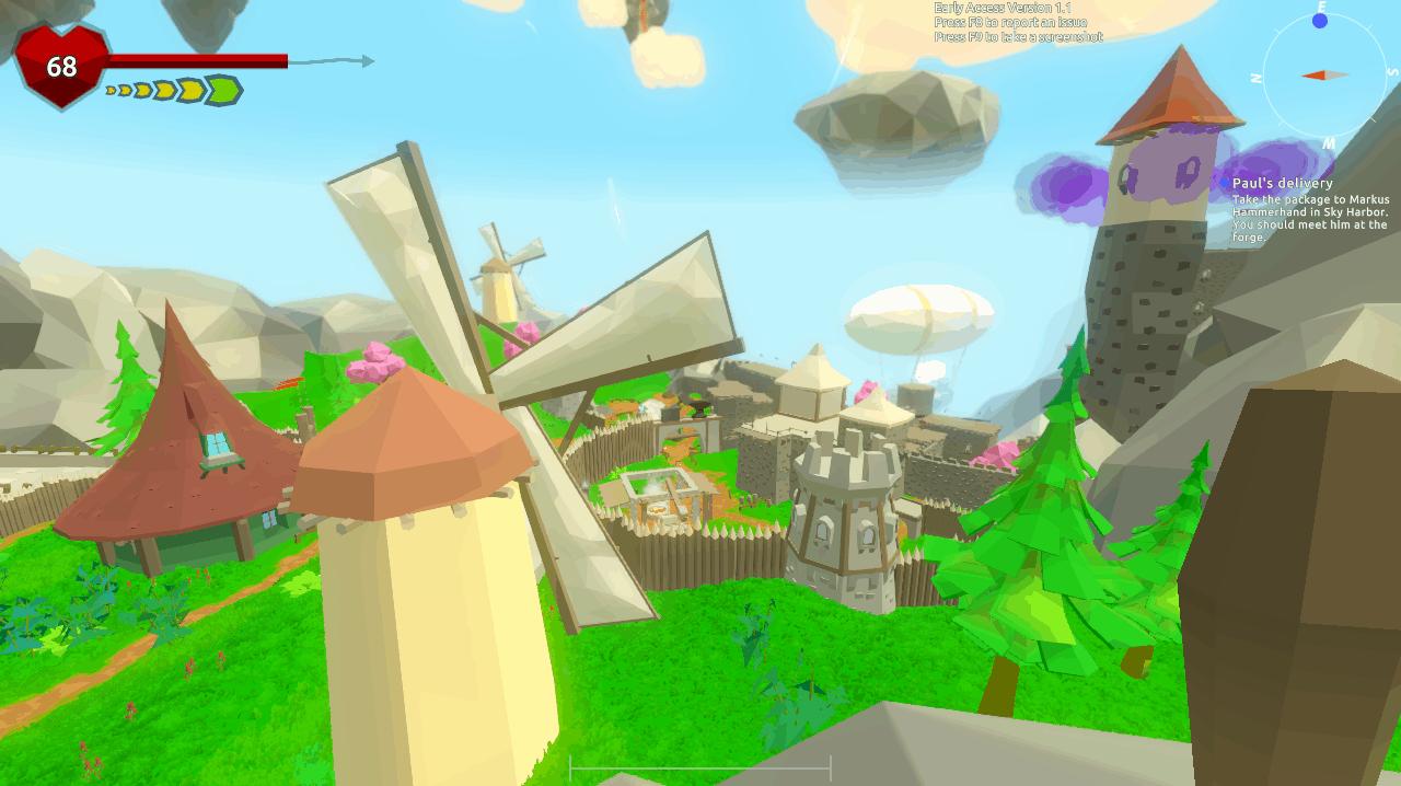 windscape-screenshot-village