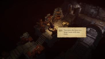 Warlock of Firetop Mountain - screenshot courtesy Tinman Games