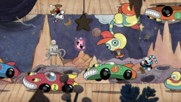 Cuphead cars