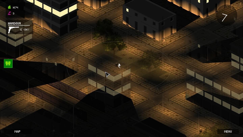 Walking Heavy game screenshot, neighborhood