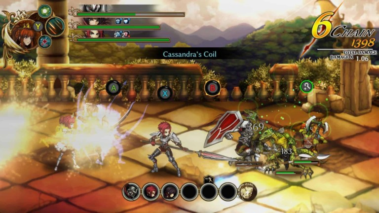 fallen legion combat