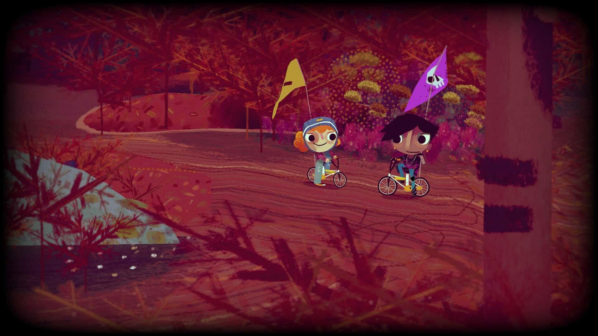Knights and Bikes game screenshot courtesy Steam