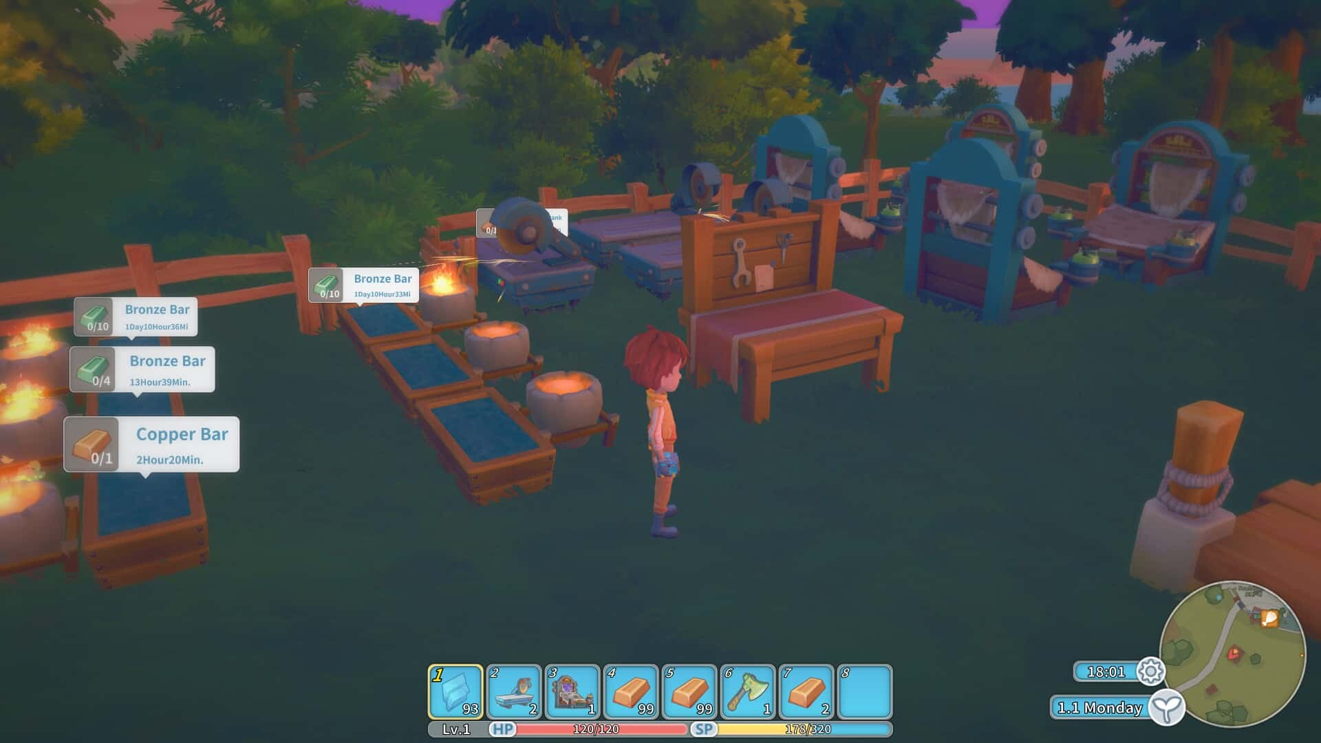 My Time at Portia game screenshot courtesy Steam