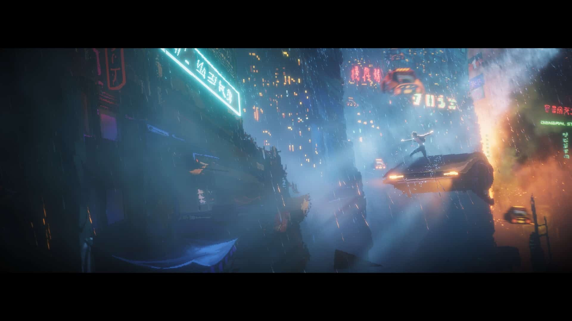 The Last Night game screenshot courtesy Steam