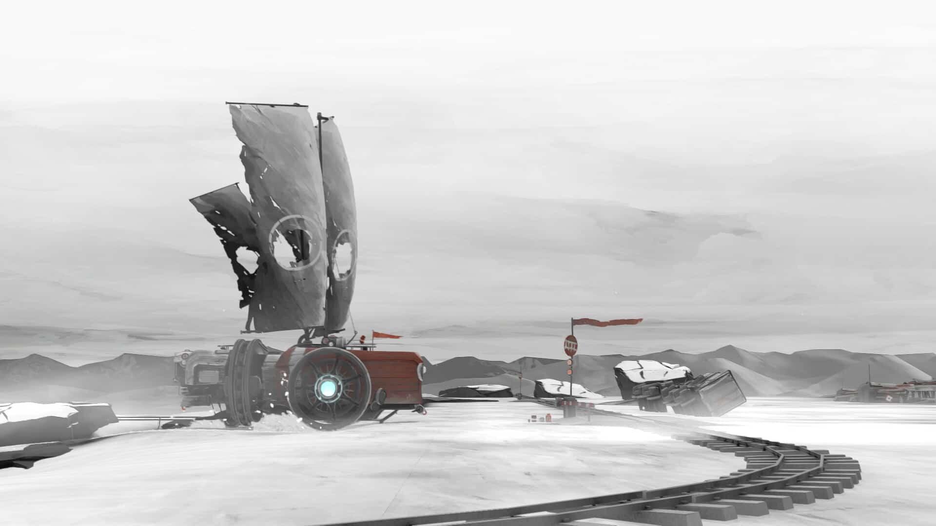 FAR: Lone Sails winter screenshot courtesy Steam