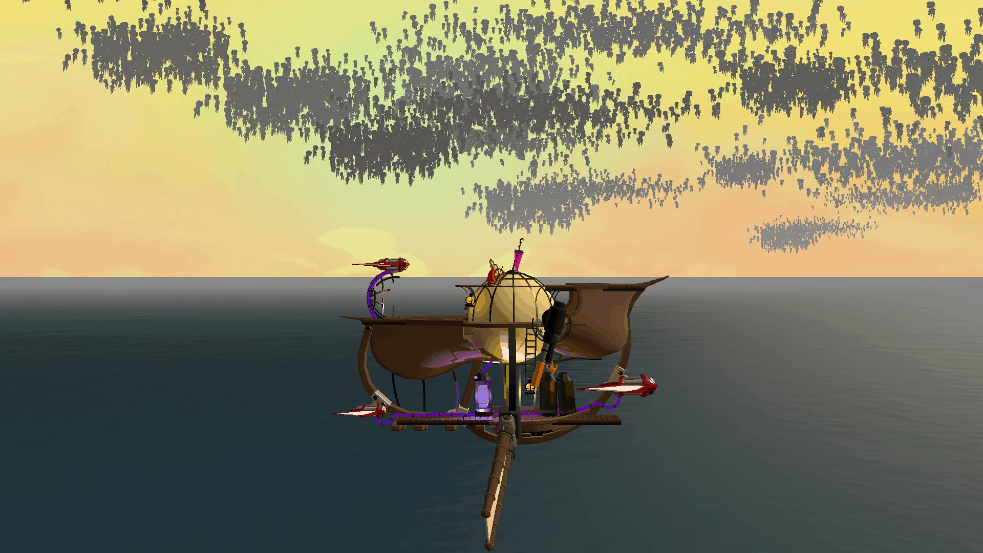 Lonely Skies game screenshot