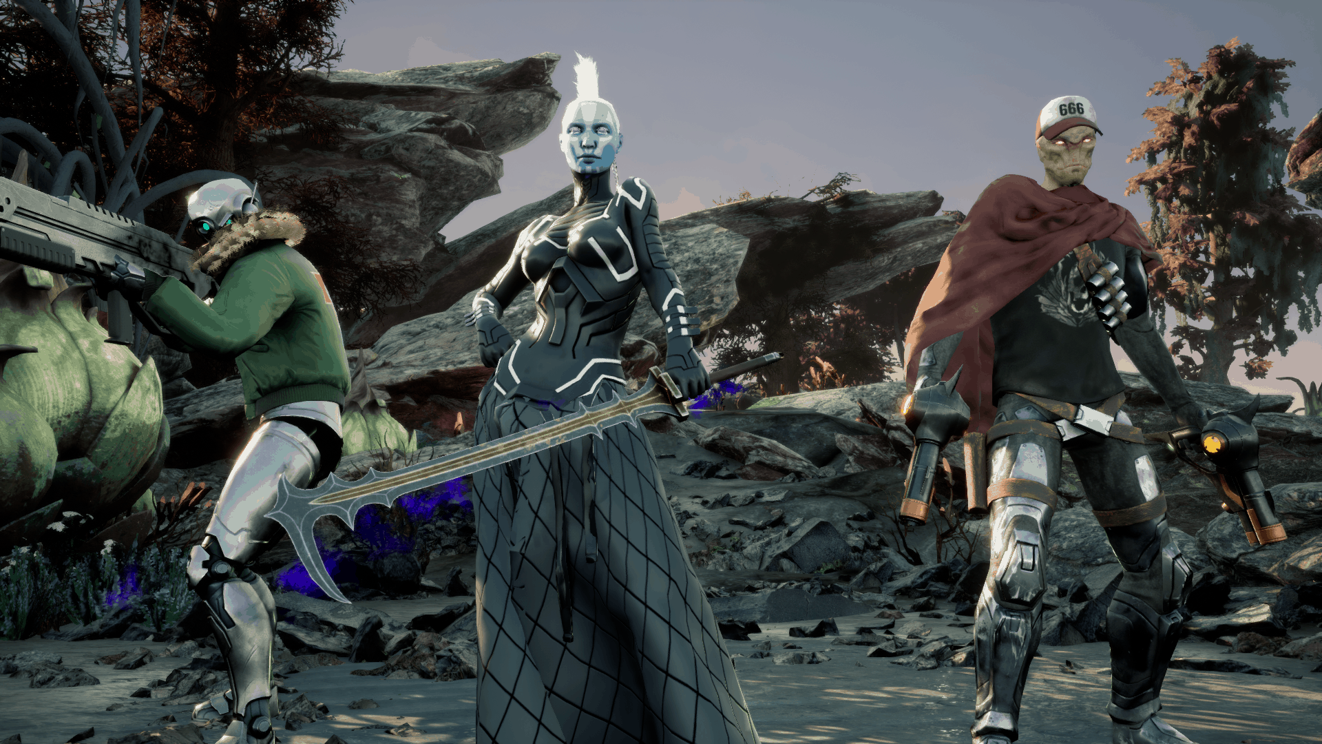 Killsquad game screenshot, the squad