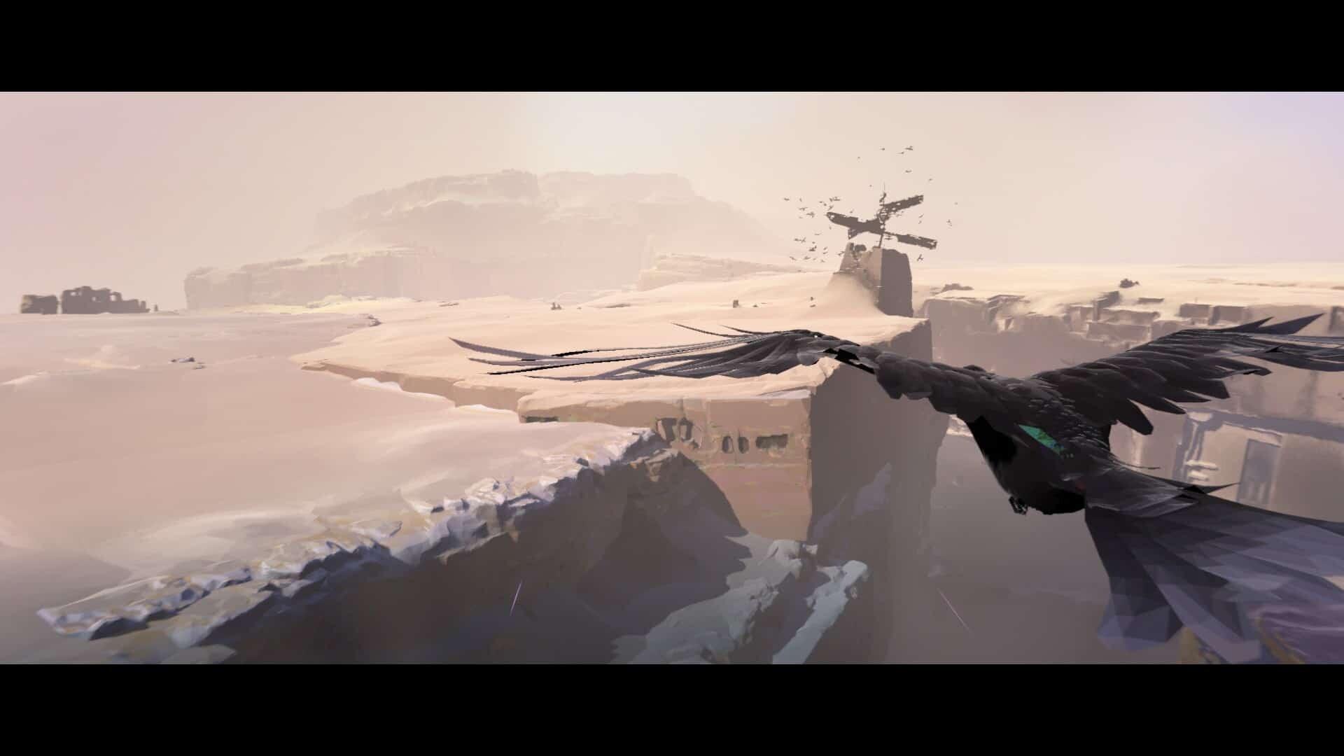 Vane game screenshot, birds