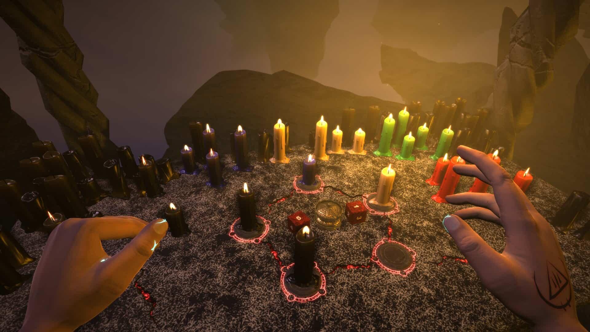 Exorcise Candles