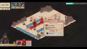 Wintermoor Tactics Club game screenshot