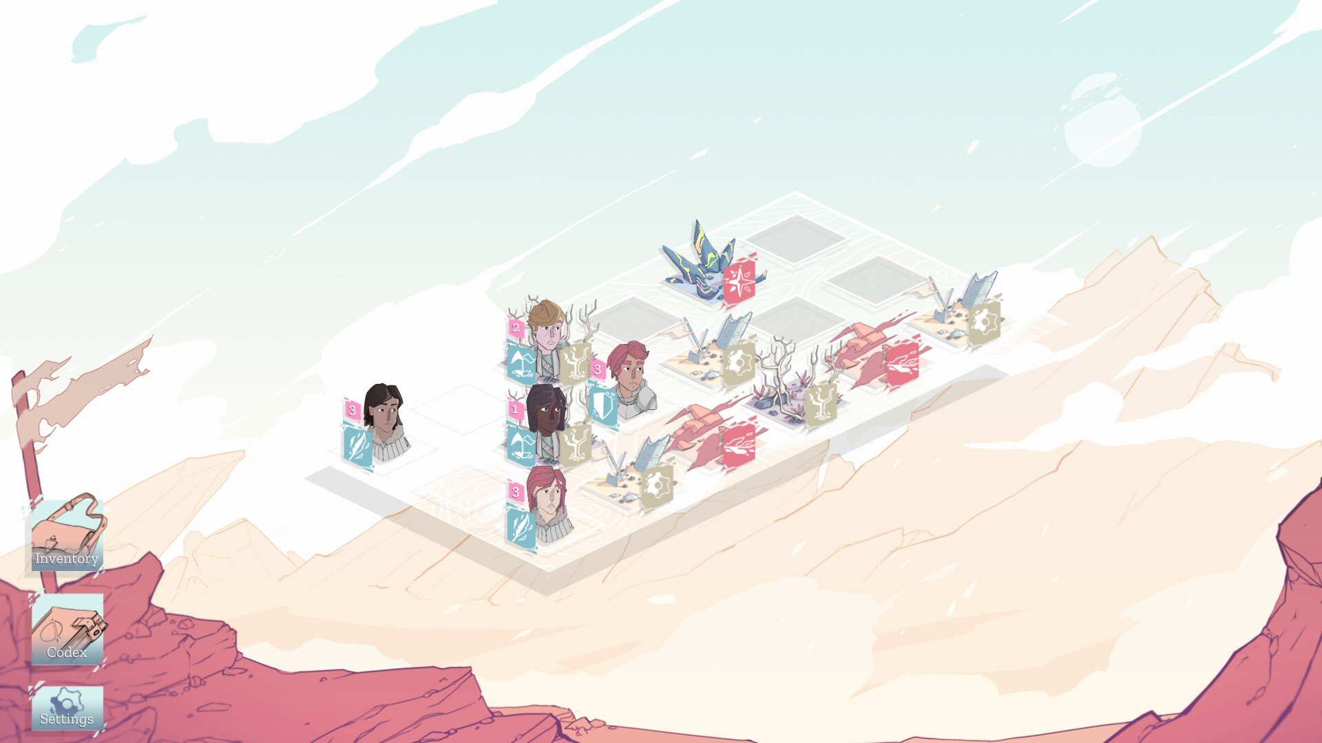 Moonfall game screenshot
