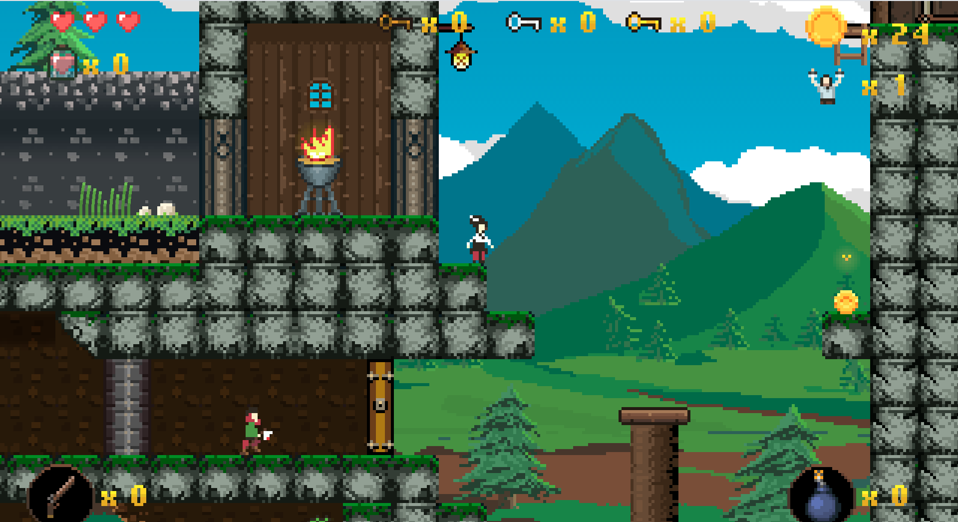 Janosik game screenshot
