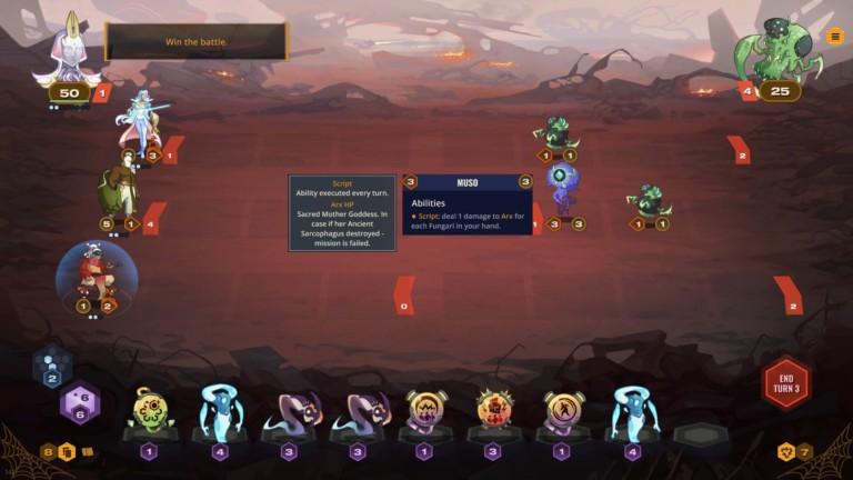 Against the Moon game screenshot - Script