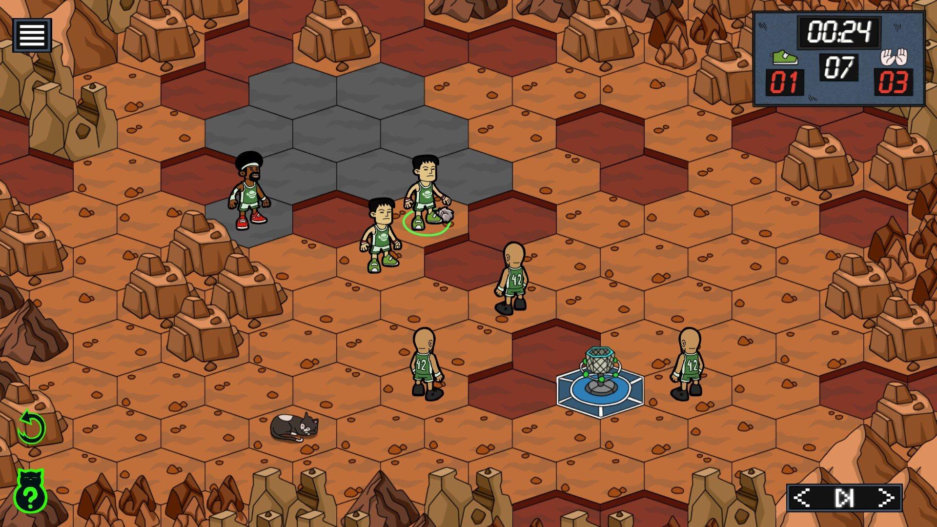 BasCatball Mars game screenshot 2