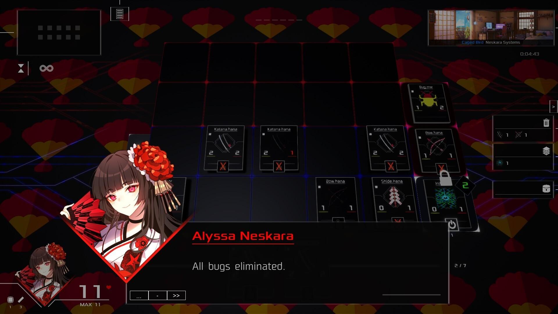 Quantum Protocol game screenshot