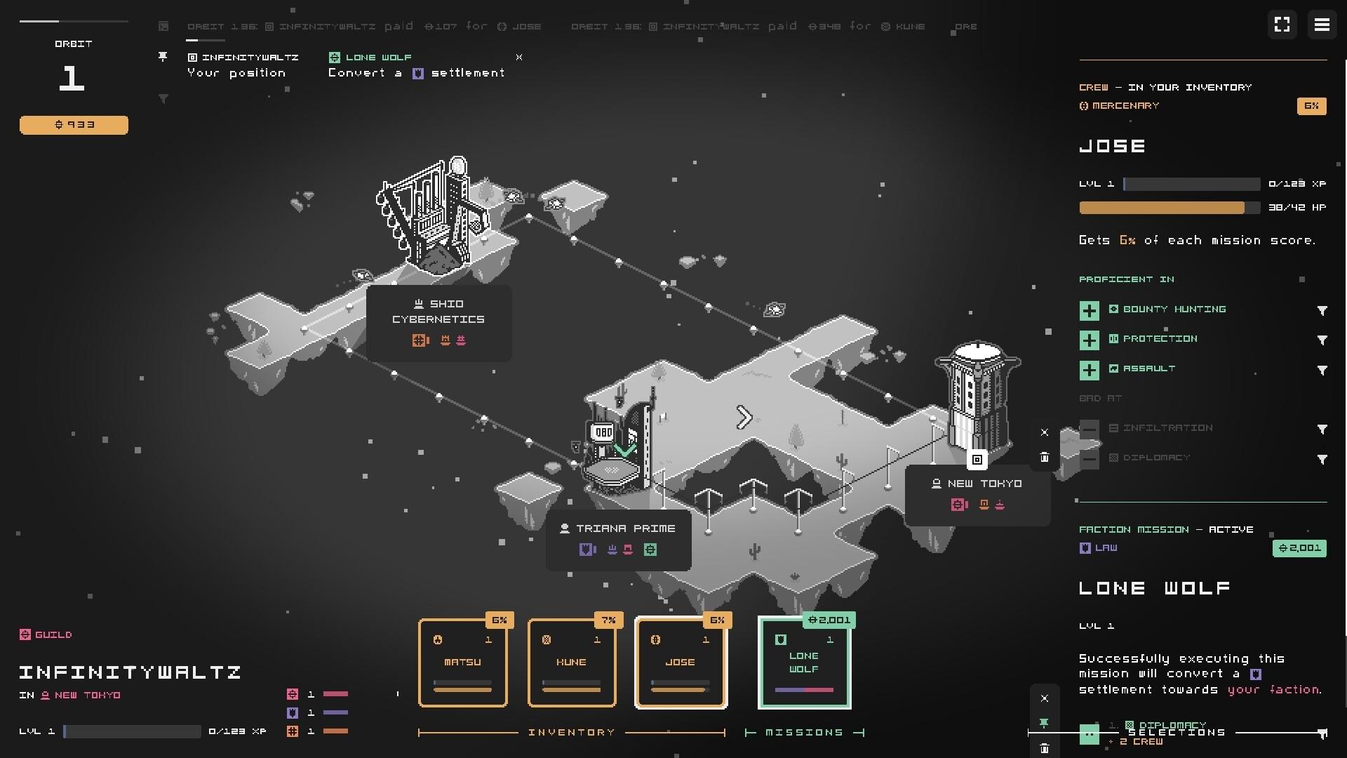 Sublunar game screenshot 2