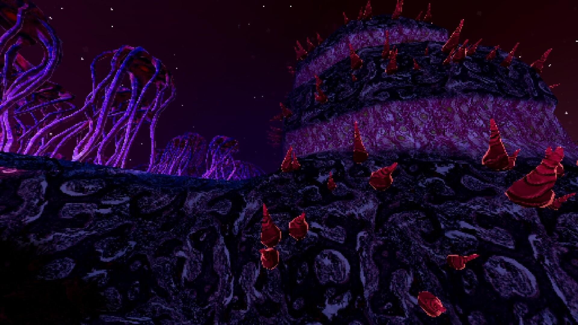 Stars Die game screenshot 2, weird environments