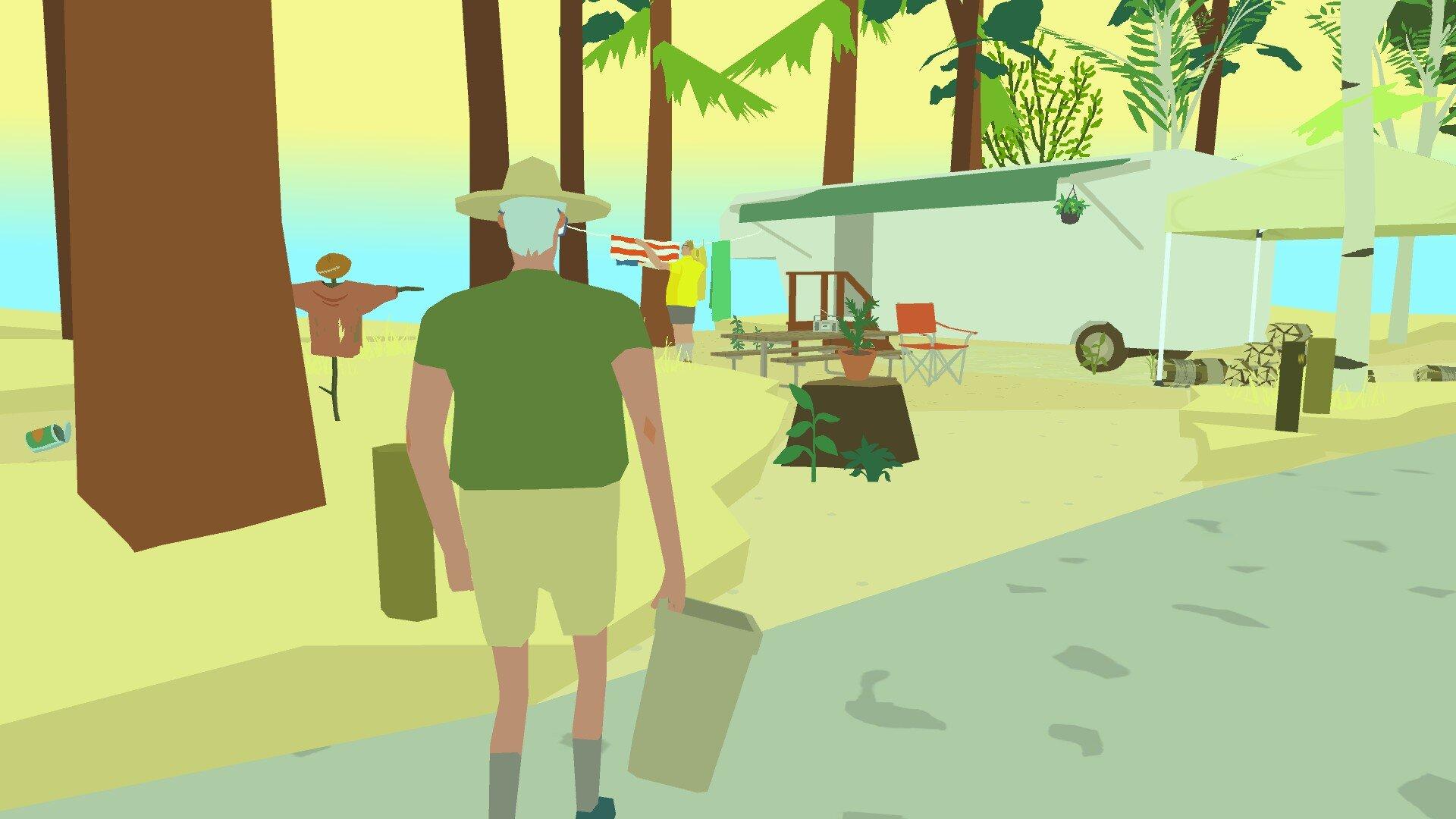 Wide Ocean Big Jacket game screenshot