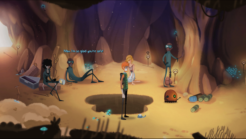Mutropolis game screenshot, Cave