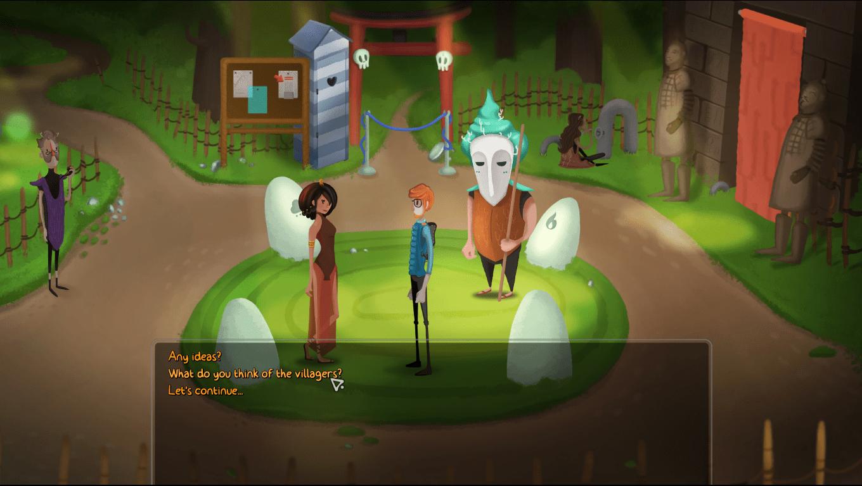 Mutropolis game screenshot, Village