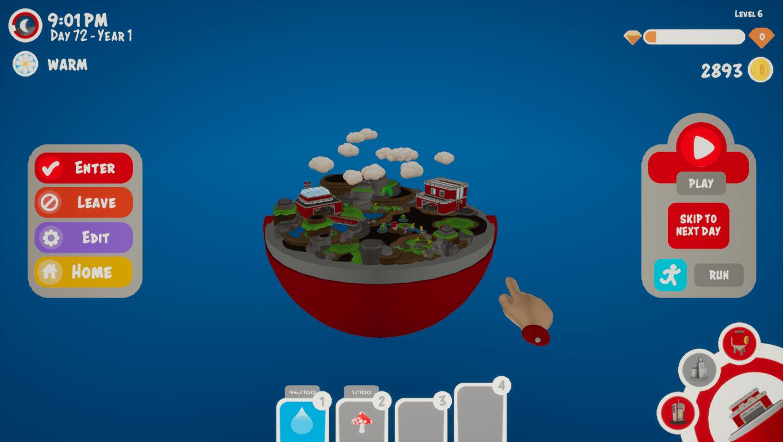Gooberries game screenshot, Terrarium